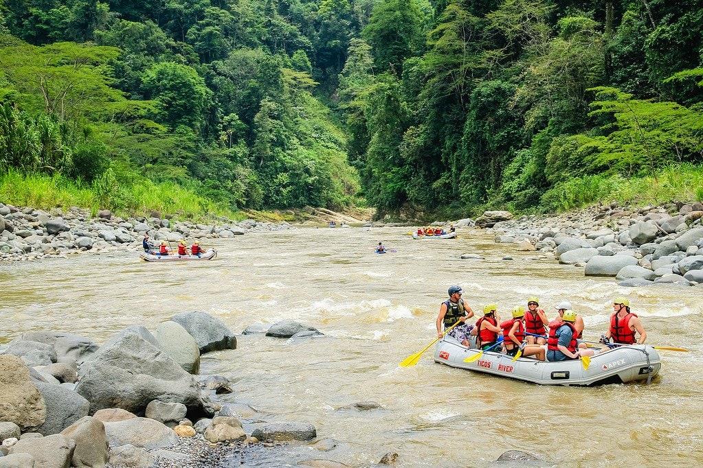Rio Parcuare Turrialba Costa Rica