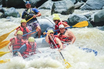 Whitewater Rafting The Class IV Pacuare River in Turrialba