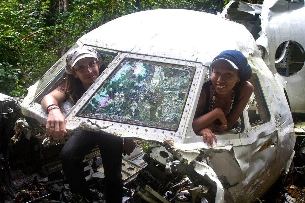 Utila Honduras Airplane Cockpit