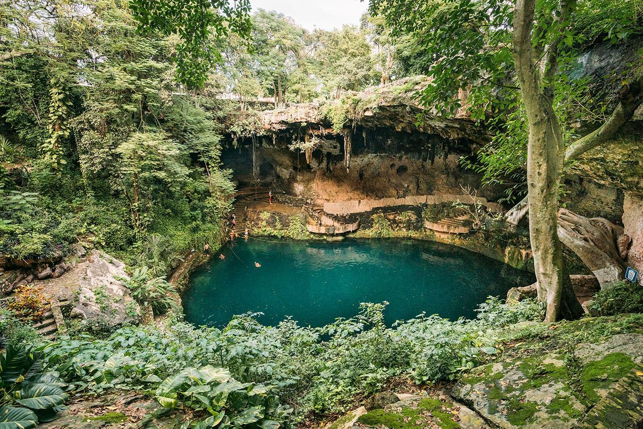 Cenote Zaci in Valladolid
