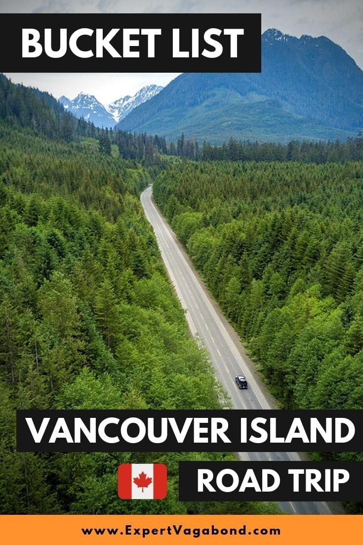 Vancouver Island Road Trip. More at ExpertVagabond.com