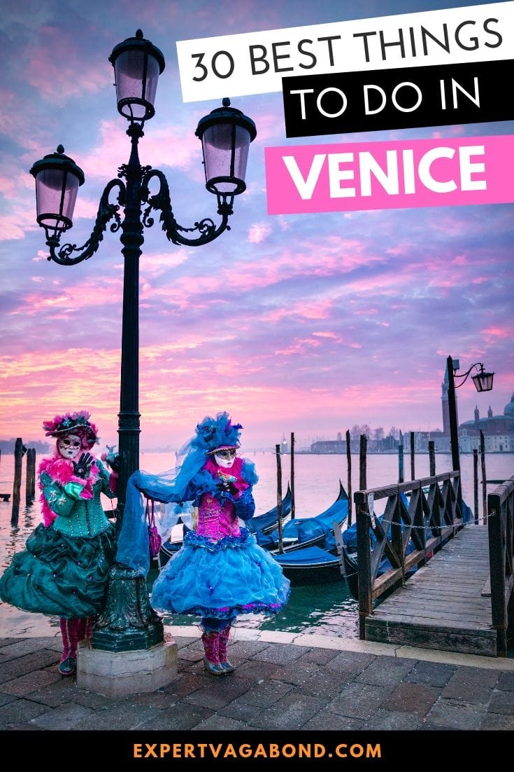 The best things to do in Venice, Italy! Wander St. Mark's Square, check out a hidden book store, ride a gondola on the canals, catch a Venetian sunset, and more. Some travel inspiration for planning your trip to Venice.