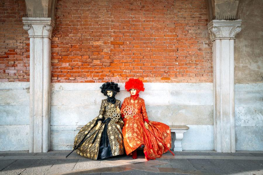 Extravagant Costumes in Venice