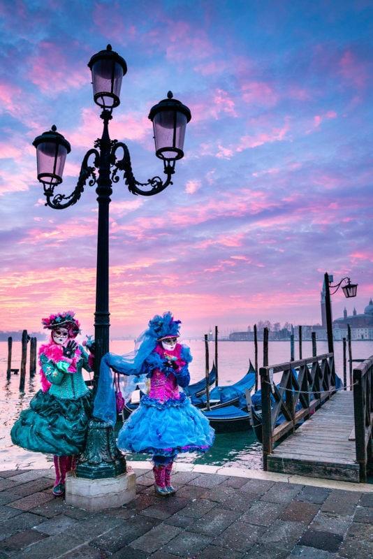 Venice Sunrise Lagoon