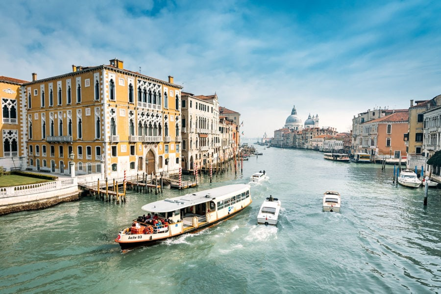 Venice Grand Canal Waterway