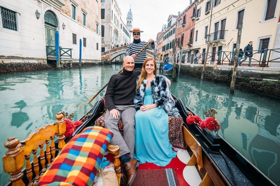Venice Canal Gondola Rides