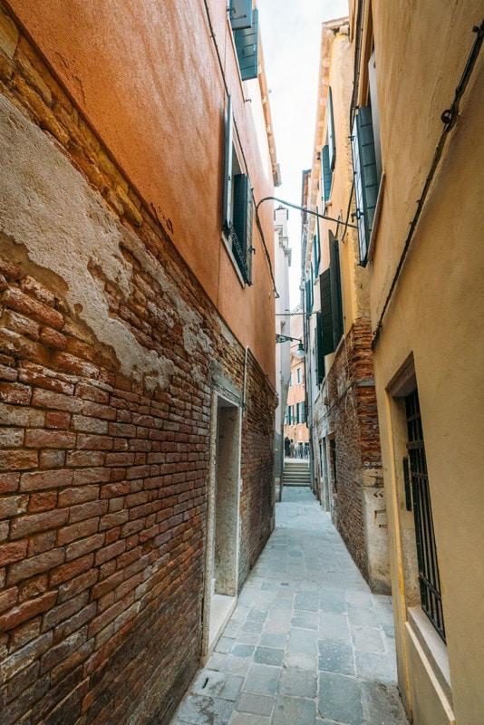 Walking street in Venice