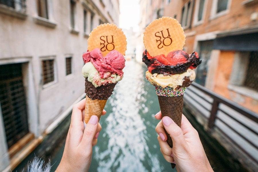 venice-suso-gelato-900x600 ▷ 30 mejores cosas que hacer en Venecia (la hermosa ciudad flotante de Italia)