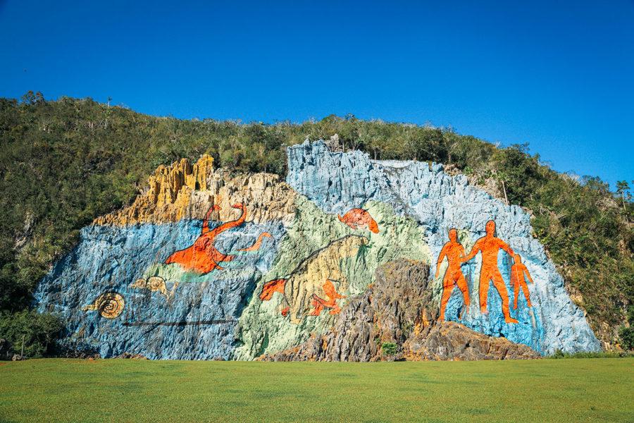 Mural de la Prehistoria in Vinales