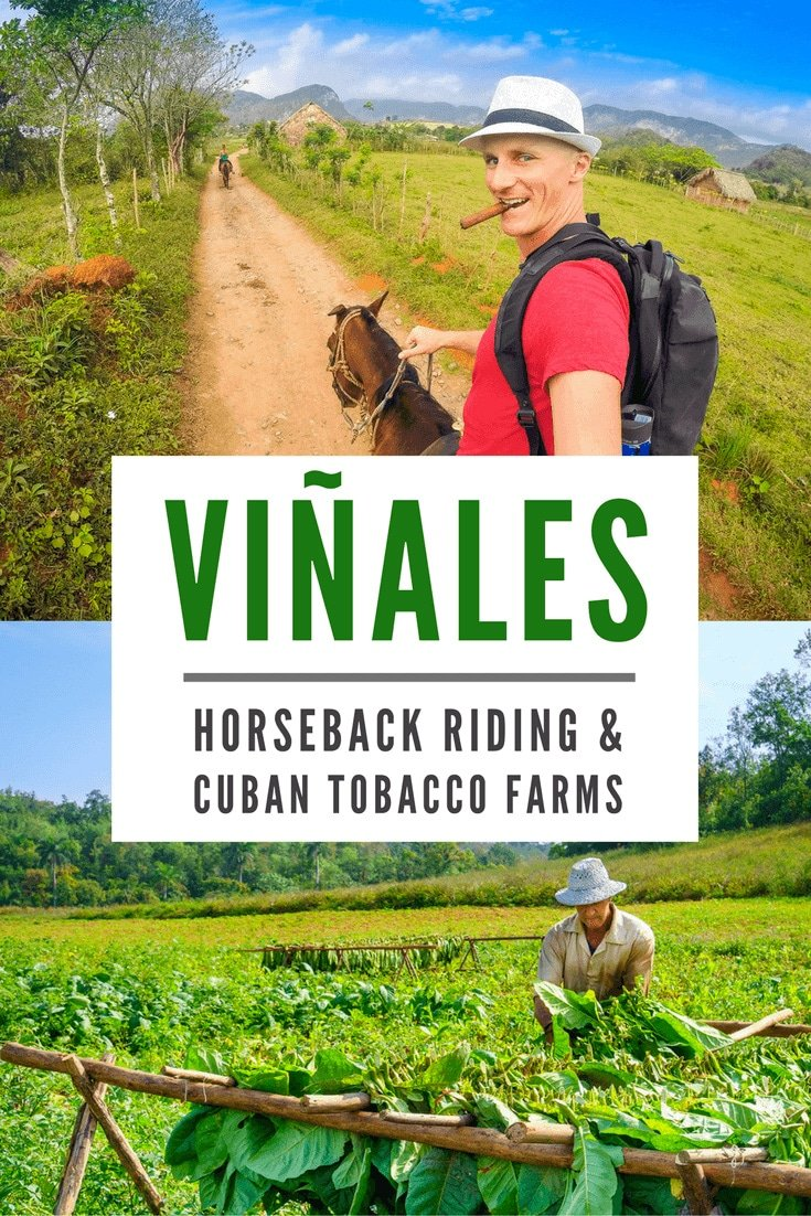 Horseback Riding & Cigars in Vinales, Cuba. More at ExpertVagabond.com