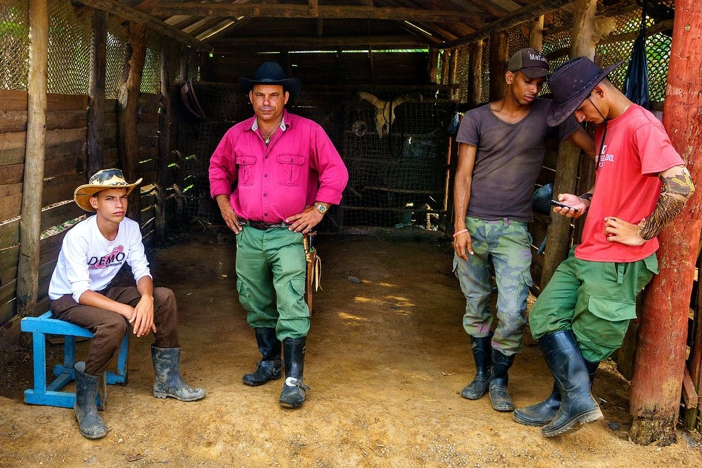 Vinales Cuba Cowboys
