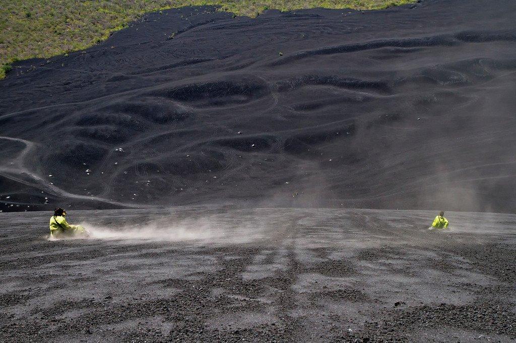 Volcano Boarding Cerro Negro Nicaragua
