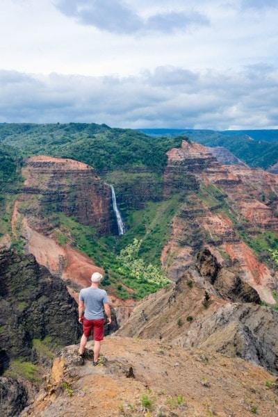 Waipo'o Waterfall Waimea Canyon