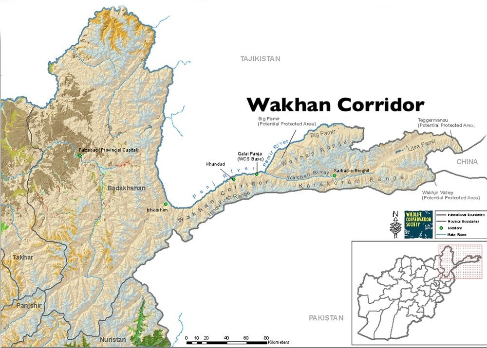 Wakhan Map