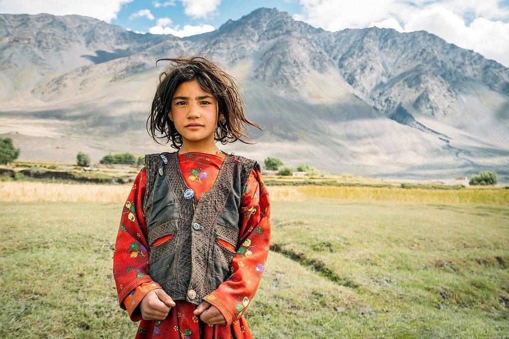Wakhan Afghan Girl