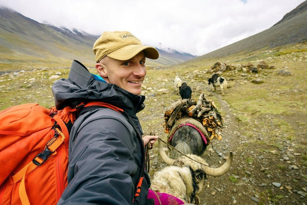 Traveling by yak in Afghanistan
