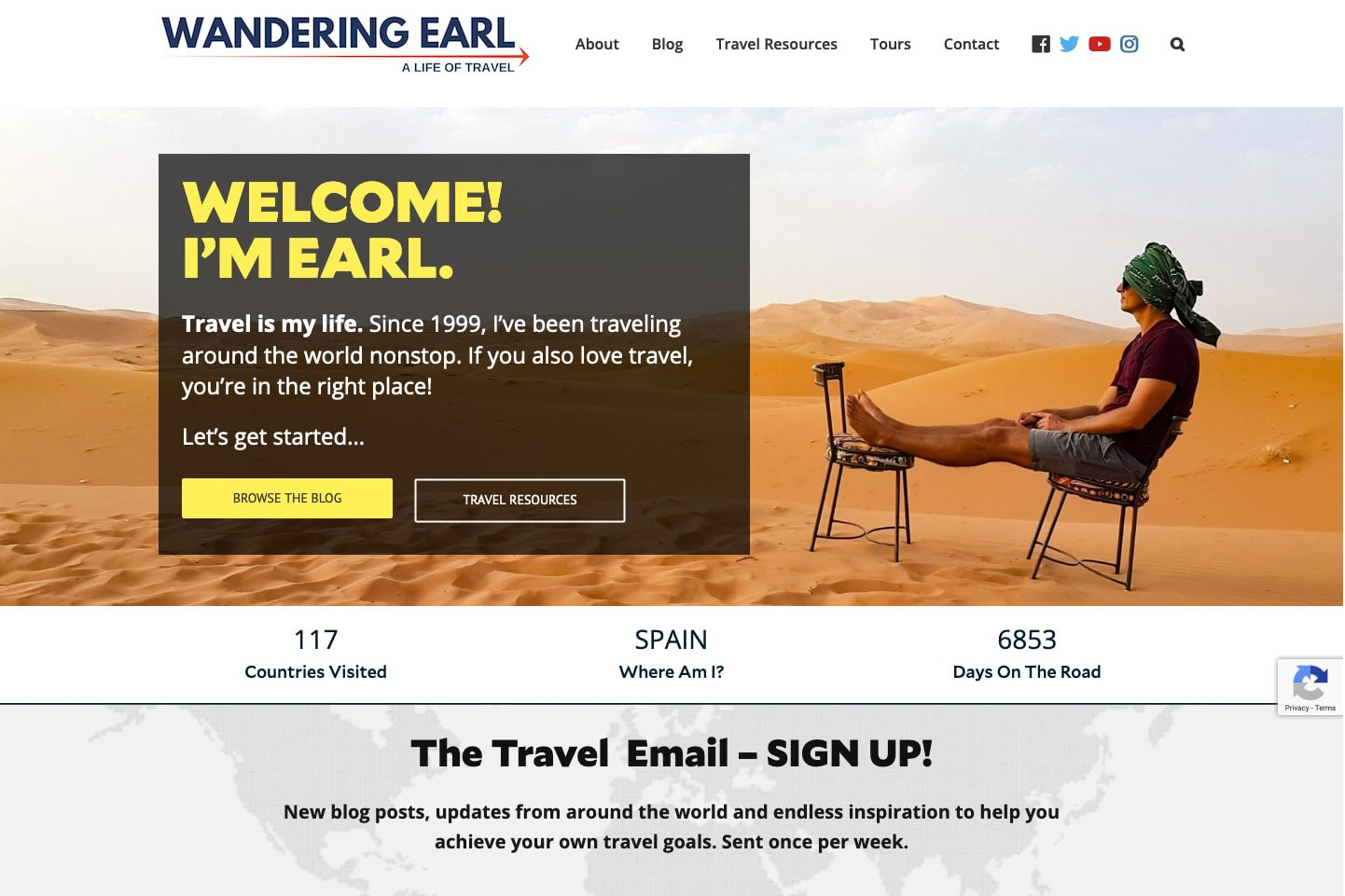Wandering Earl Blog