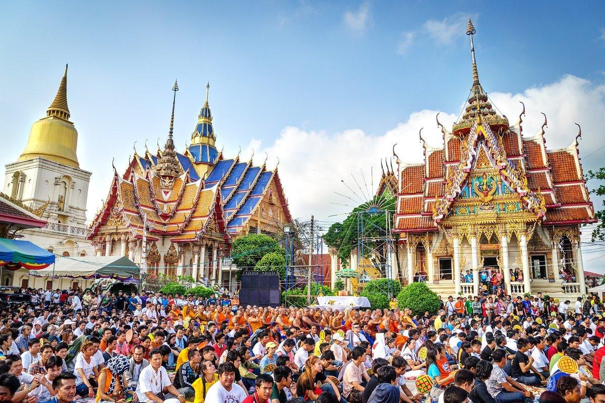 Wat Bang Phra Thailand