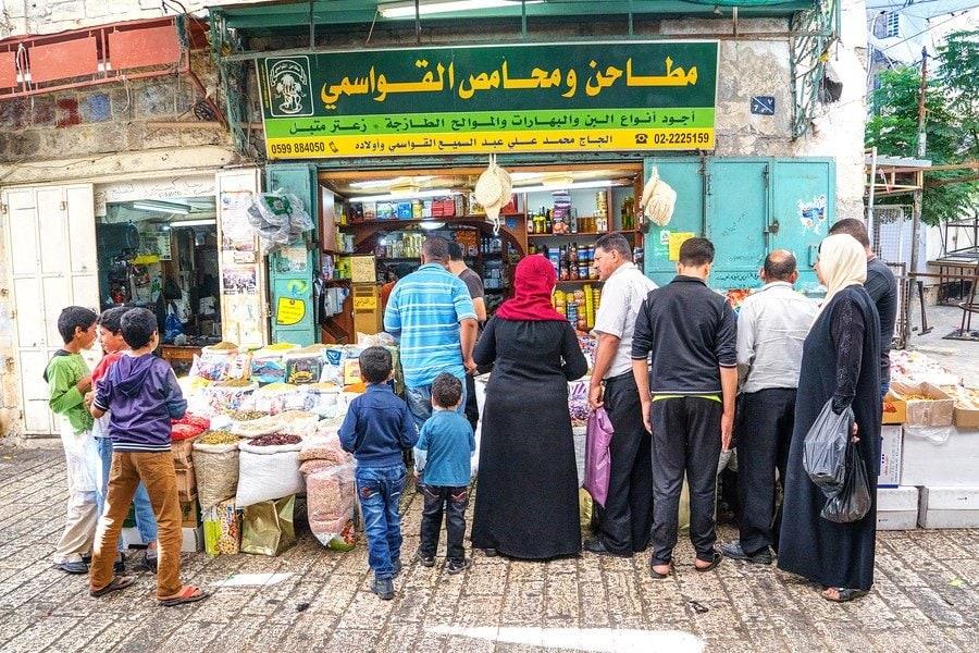 Hebron Market Stalls