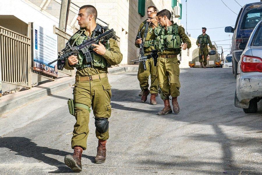 Israeli Military West Bank