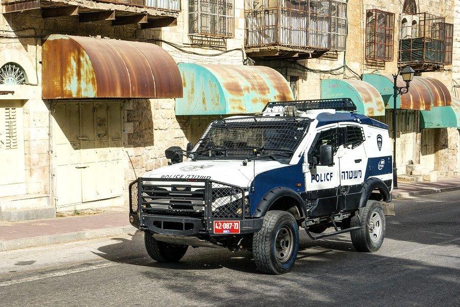 Israeli Police Hebron
