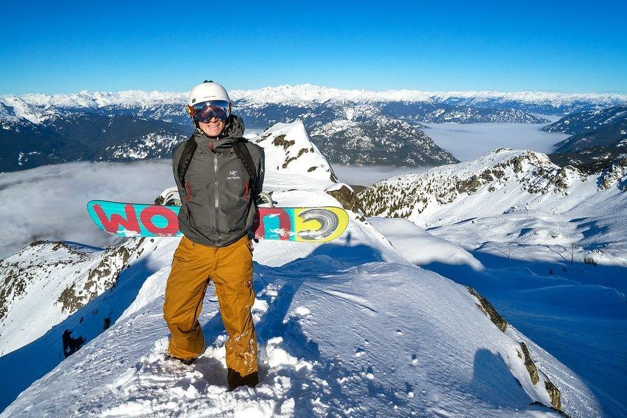 Snowboarding Whistler BC