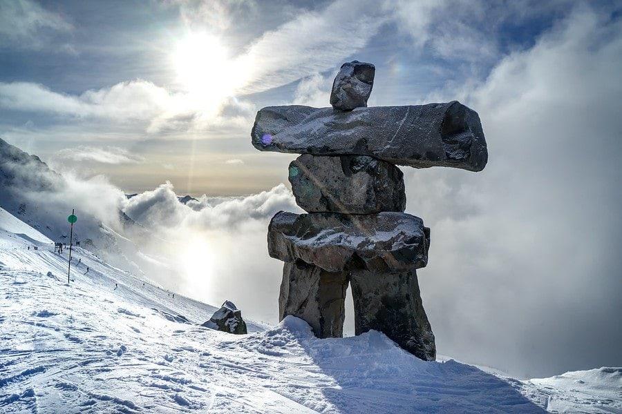 Inukshuk Statue Whistler
