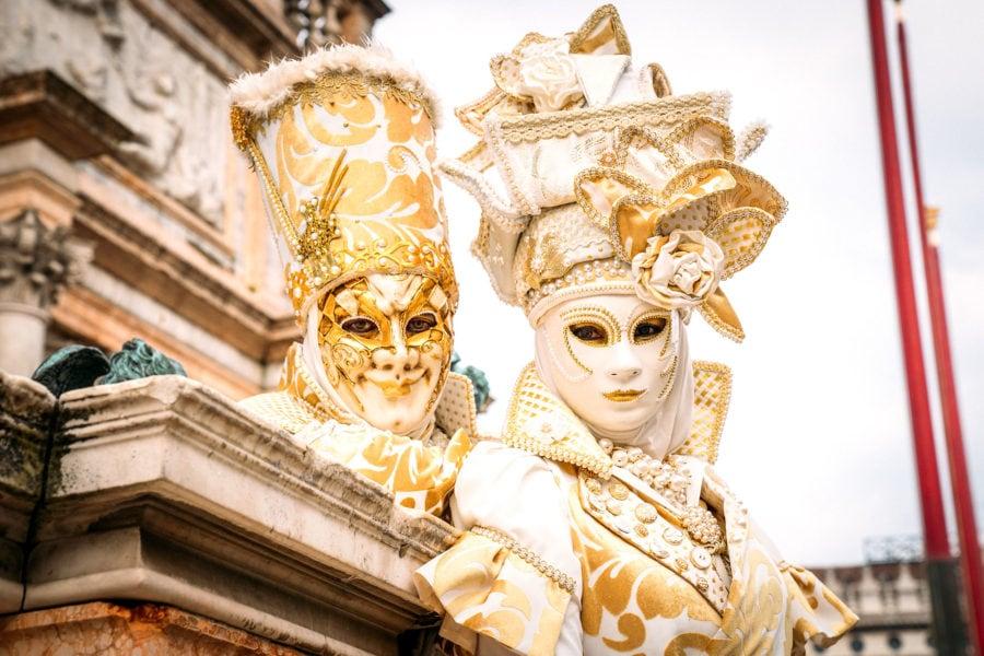 Venetian Mask Detail