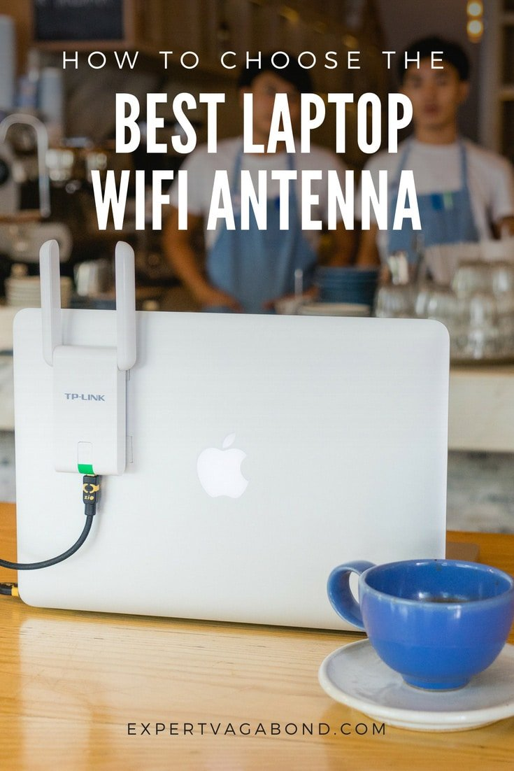 The best wifi antennas for extending your laptop's wireless range. More at ExpertVagabond.com