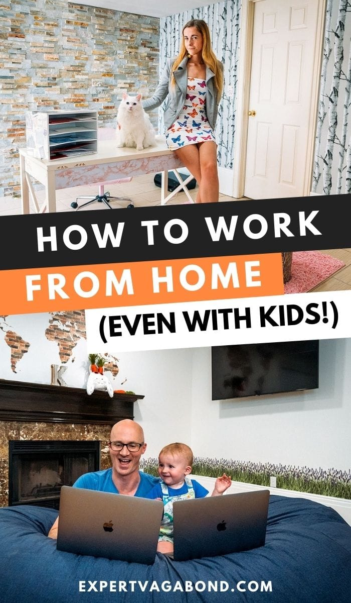How To Work From Home: 10 Helpful Tips To Stay Productive. Click here to find out more #WorkFromHome #WorkOnline #Productivity