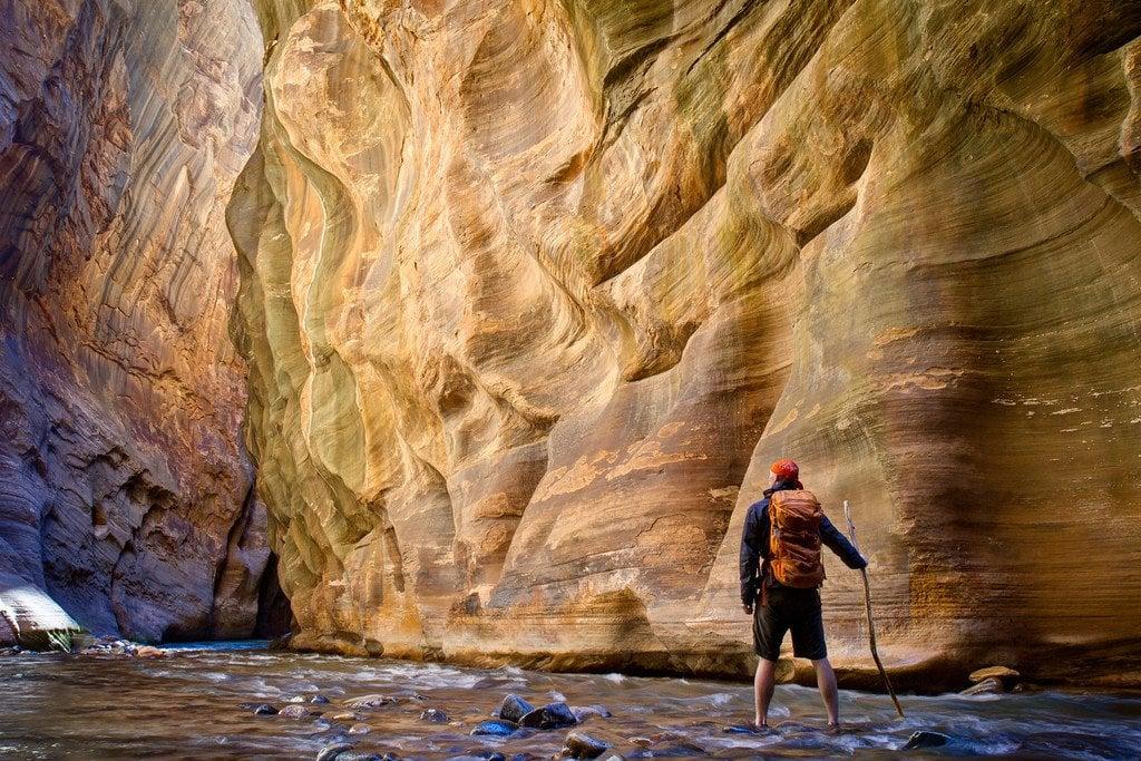 Zion Canyon Narrows Utah